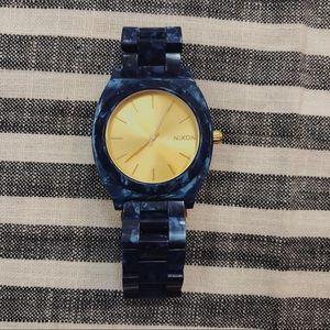 Nixon Women's Time Teller Acetate Watch!